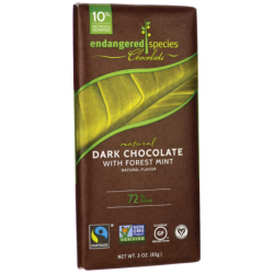Dark Chocolate with Forest Mint 72 Cocoa, 1 Bar(s)