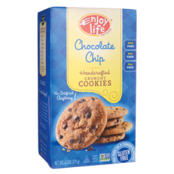 Handcrafted Crunchy Cookies  Chocolate Chip, 6.3 oz (179 grams) Box