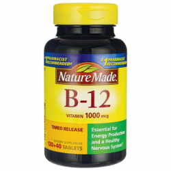 Vitamin B12 Timed Release, 1,000 mcg 120 + 40 Tabs