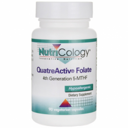 QuatreActiv Folate, 90 Veg Caps