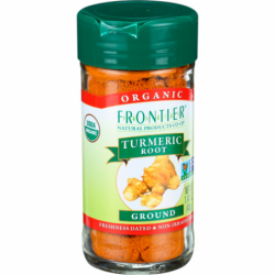 Organic Ground Turmeric Root, 1.41 oz (40 grams) Jar