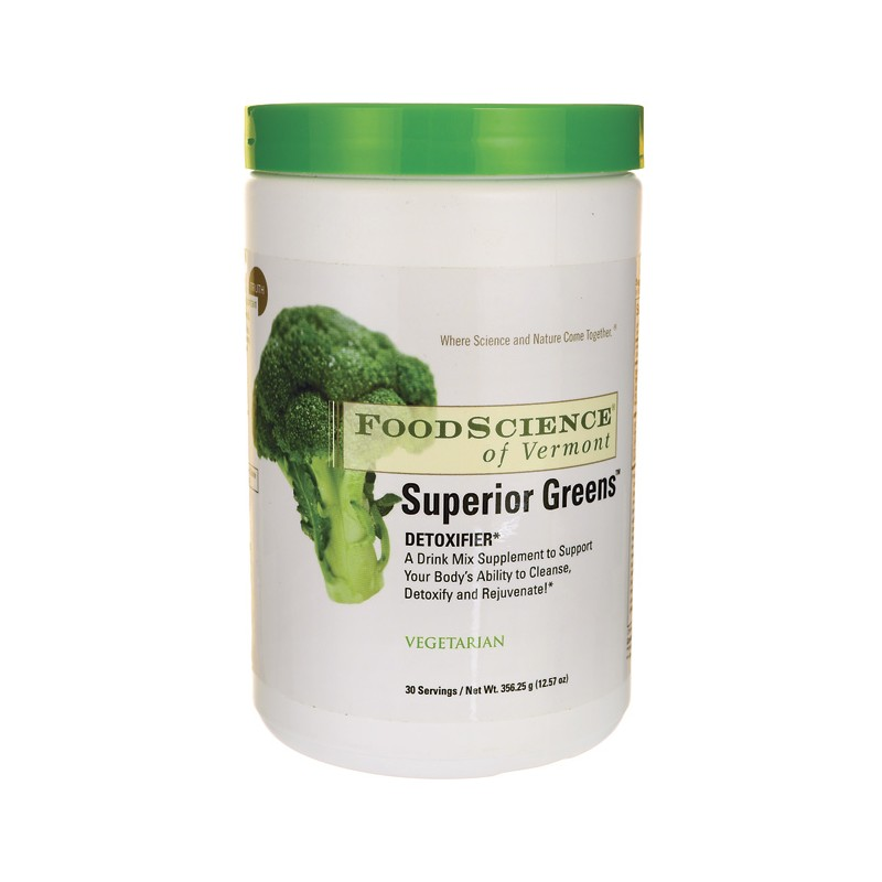 Superior Greens, 12.57 oz (356.25 grams) Pwdr