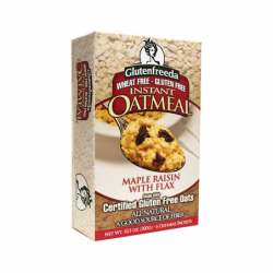 Instant Oatmeal Maple Raisin with Flax, 6 Pkts