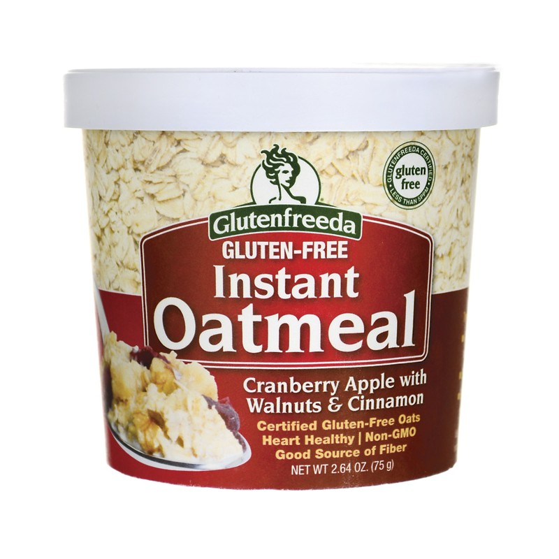 Instant Oatmeal  Cranberry Apple with Walnuts & Cinnamon, 2.64 oz Pkg