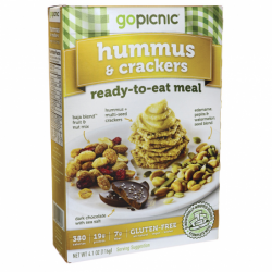 ReadytoEat Meal Hummus & Crackers, 4.1 oz Box