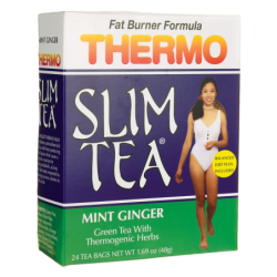 Thermo Slim Tea Mint Ginger, 24 Bag(s)