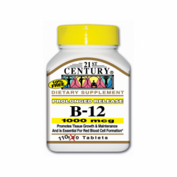 Prolonged Release Vitamin B12, 1,000 mcg 110 Tabs