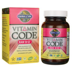 Vitamin Code Raw B12, 30 Vegan Caps