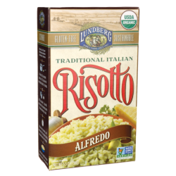 Traditional Italian Risotto  Alfredo, 5.5 oz (156 grams) Bag(s)