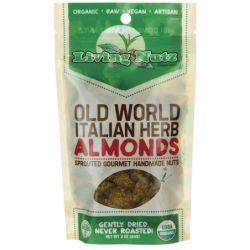 Old World Italian Herb Almonds, 3 oz Pkg