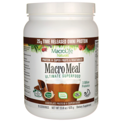 Macro Meal Ultimate Superfood  Chocolate, 23.8 oz (675 grams) Pwdr
