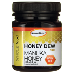 Honey Dew Plus  Manuka Honey, 8.8 oz (250 grams) Jar