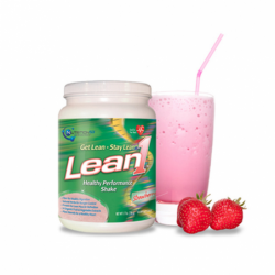 Lean1 Shake  Strawberry, 1.3 lbs Pwdr