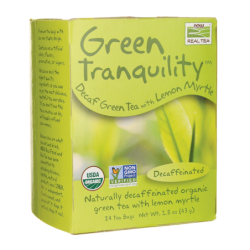 Green Tranquility Decaf Green Tea with Lemon Myrtle, 24 Bag(s)