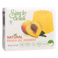 Peach Jel Dessert, 1.6 oz (44 grams) Pkg