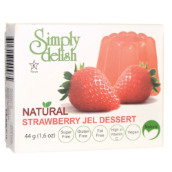 Strawberry Jel Dessert, 1.6 oz (44 grams) Pkg