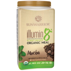 illumin8 Organic Meal  Mocha, 35.2 oz (1 kilogram) Pwdr