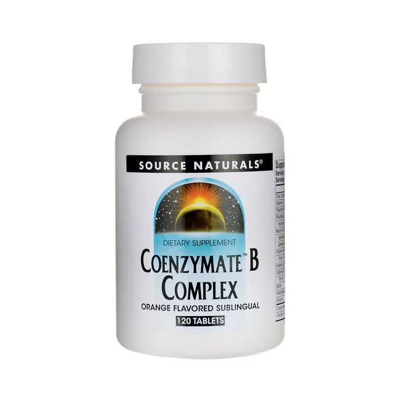 Coenzymate B Complex  Orange Flavored, 120 Tabs