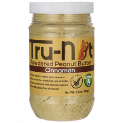 Powdered Peanut Butter  Cinnamon, 6.7 oz (190 grams) Jar