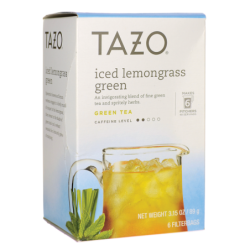Iced Lemongrass Green Tea, 6 Bag(s)
