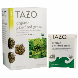 Green Tea  Organic PanFired Green, 20 Bag(s)