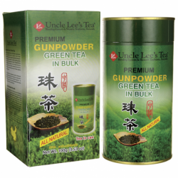 Premium Gunpowder Green Tea in Bulk, 3.53 oz Pwdr