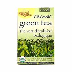 Organic Green Tea  Decaf, 18 Bag(s)