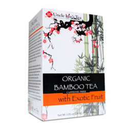 Organic Bamboo Tea with Exotic Fruit, 18 Bag(s)