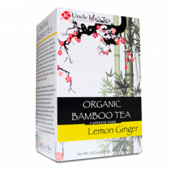 Organic Bamboo Tea  Lemon Ginger, 18 Bag(s)