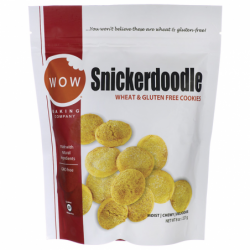 Snickerdoodle Cookies, 8 oz (227 grams) Pkg
