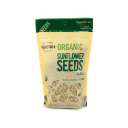 Organic Sunflower Seeds, 12 oz Pkg