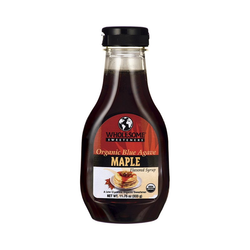 Organic Blue Agave Syrup  Maple, 11.75 fl oz Liquid