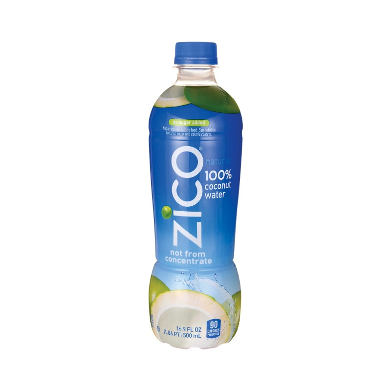100 Coconut Water Natural, 16.9 fl oz (500 mL) Liquid