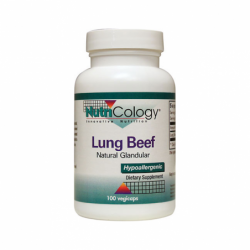 Lung Beef Natural Glandular, 400 mg 100 Veg Caps