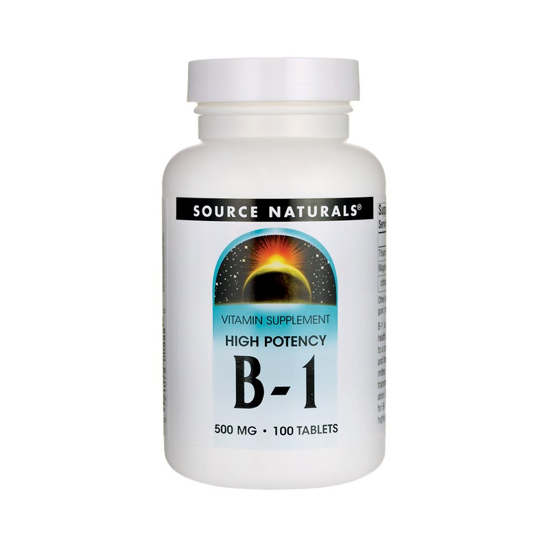 High Potency B1, 500 mg 100 Tabs
