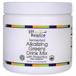 Fermented Alkalizing Greens Drink Mix, 7.4 oz (210 grams) Pwdr