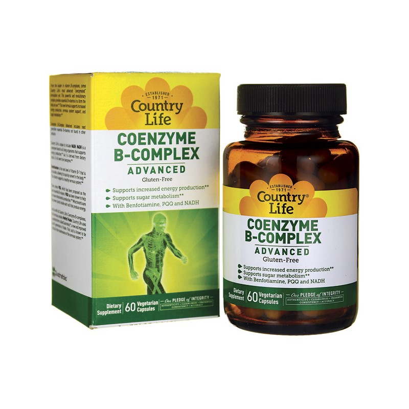 Coenzyme BComplex Advanced, 60 Veg Caps
