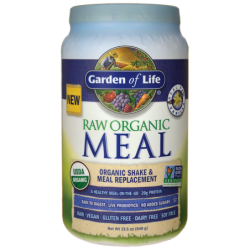 Raw Organic Meal Shake & Meal Replacement Vanilla, 33.5 oz (949 grams) Pwdr