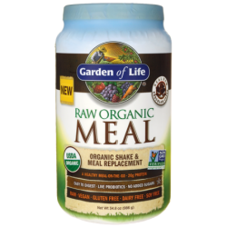 Raw Organic Meal Shake & Meal Replacement  Chocolate Cacao, 35.9 oz (1,017 grams) Pwdr