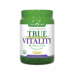 True Vitality Plant Protein Shake with DHA Vanilla, 25.2 oz Pwdr