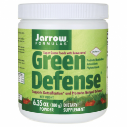 Super Green Foods with Resveratrol  Green Defense, 6.35 oz (180 grams) Pwdr