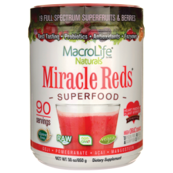 Miracle Reds Superfood, 30 oz (850 grams) Pwdr