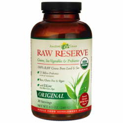 Raw Reserve Greens, Sea Vegetables & Probiotics, 8.5 oz (240 grams) Pwdr