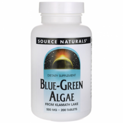 BlueGreen Algae, 500 mg 200 Tabs