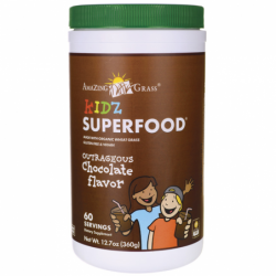 Kidz SuperFood  Outrageous Chocolate, 12.7 oz(360 grams) Pwdr