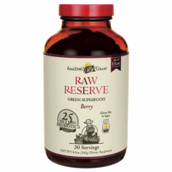 Green SuperFood Raw Reserve  Berry, 8.5 oz (240 grams) Pwdr