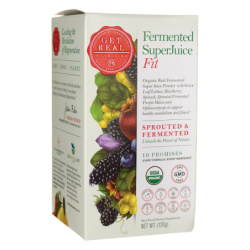 Fermented SuperJuice Fit, 120 grams Pwdr