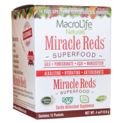 Miracle Reds AntiOxidant Super Food, 12 / 4 oz Pkts