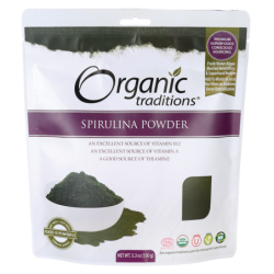 Spirulina Powder, 5.3 oz (150 grams) Pkg