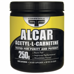 ALCAR Acetyl LCarnitine, 250 grams Pwdr